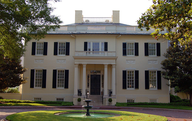 VA Governor's Mansion; photo by - Taber Andrew Bain