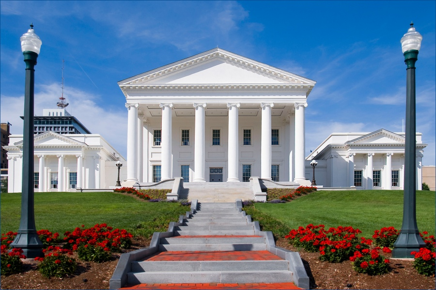State Capitol of the Commonwealth of Virginia